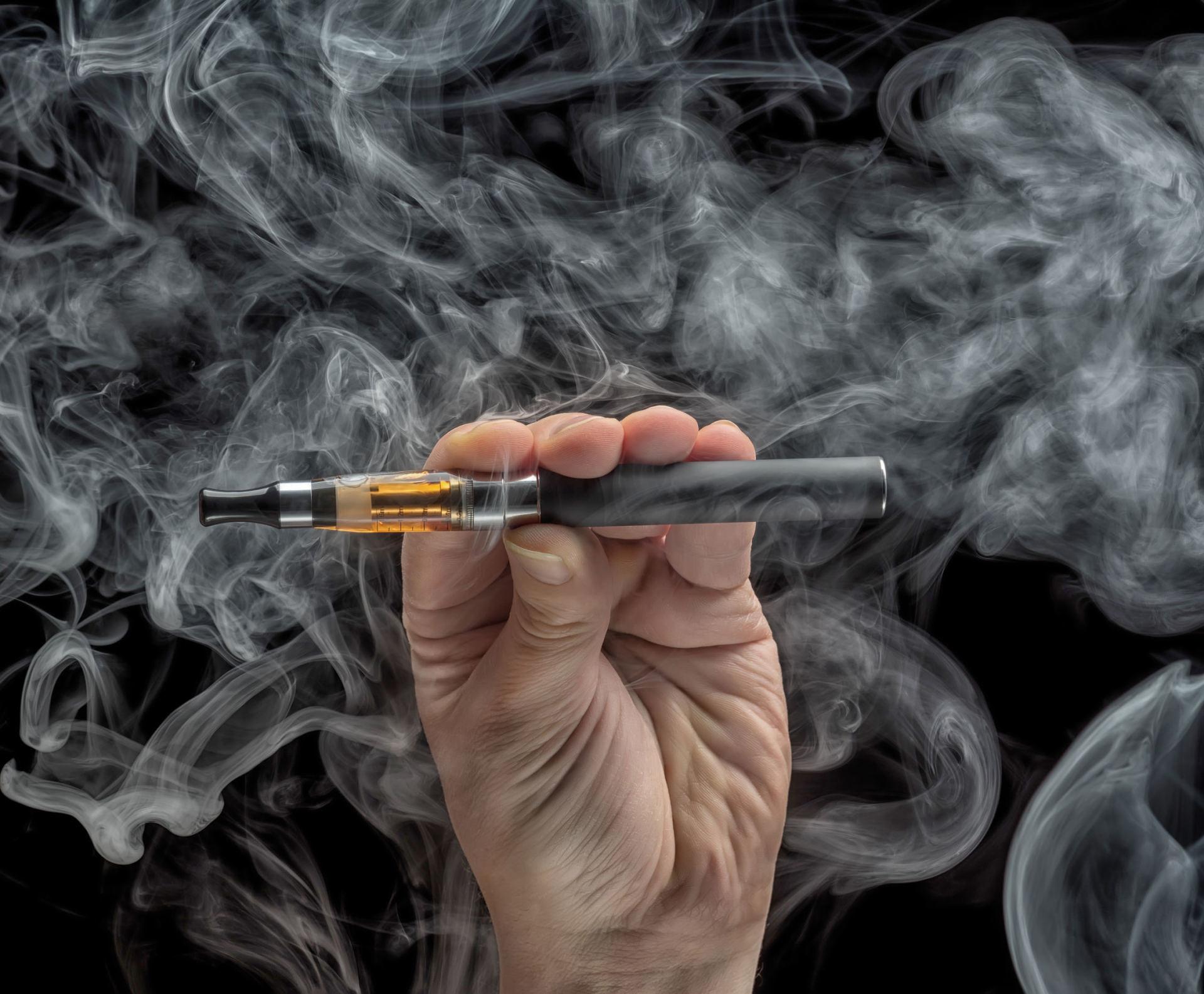 elektroninė cigaretė nuo hipertenzijos gyvenimo hipertenzijos gydymo pastaba