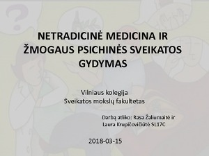 hipertenzijos gydymas netradiciniais metodais)