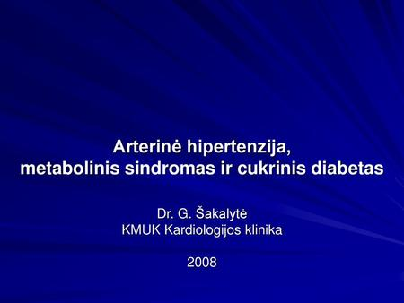 trombofilija ir hipertenzija