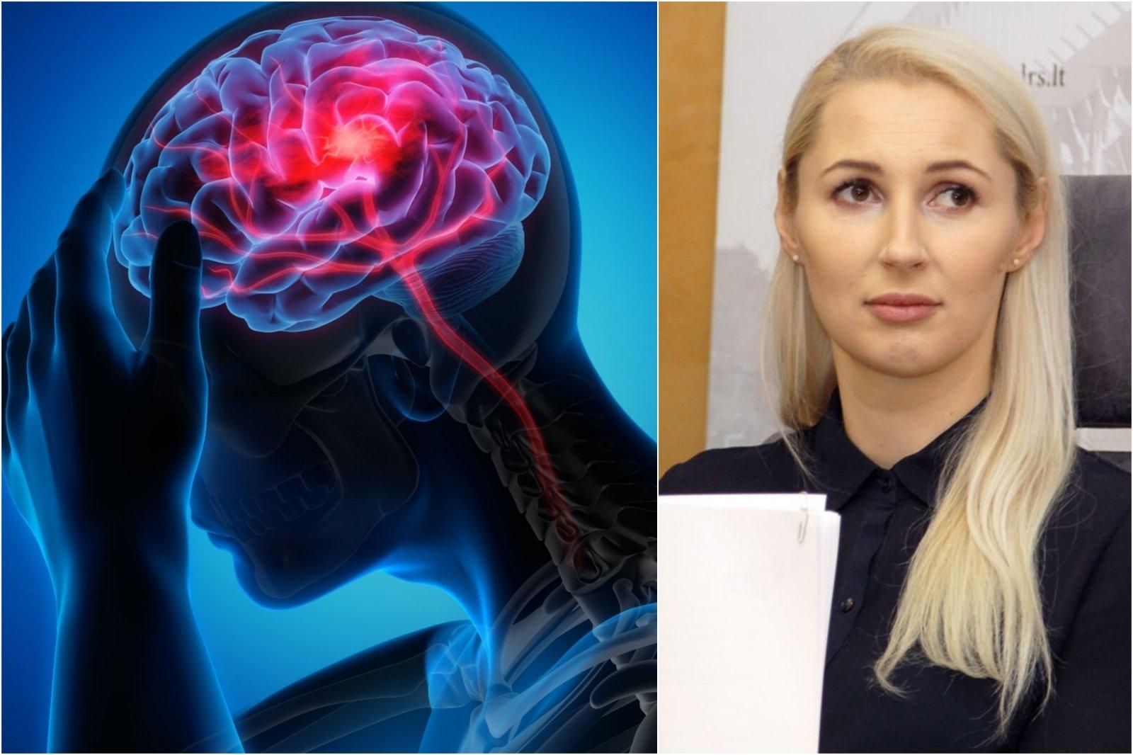 kokie tyrimai dėl galvos skausmo ir hipertenzijos