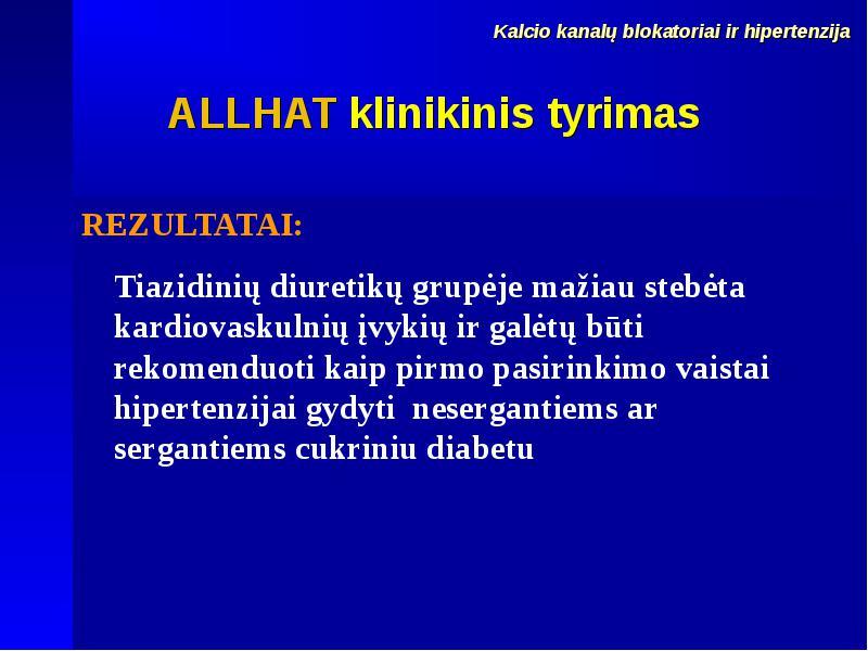 diuretikai inkstų hipertenzijai gydyti)