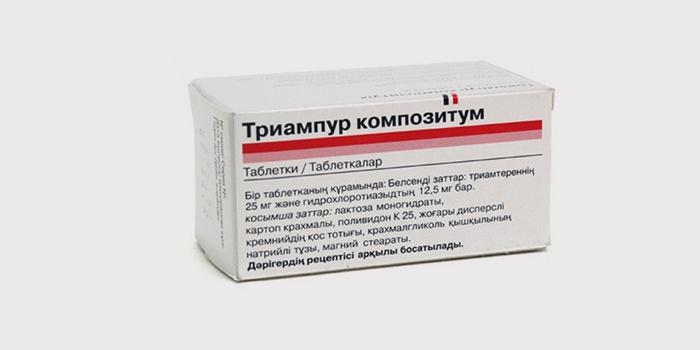 diuretikai nuo lengvos hipertenzijos