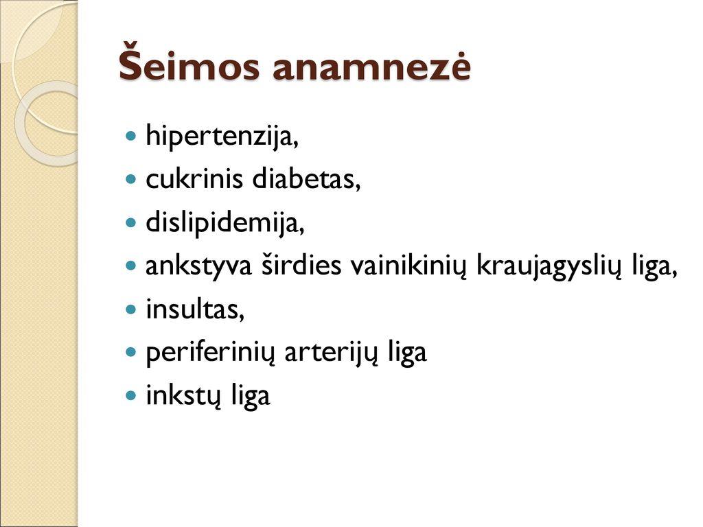 inkstų arterijos stenozė ir hipertenzija)