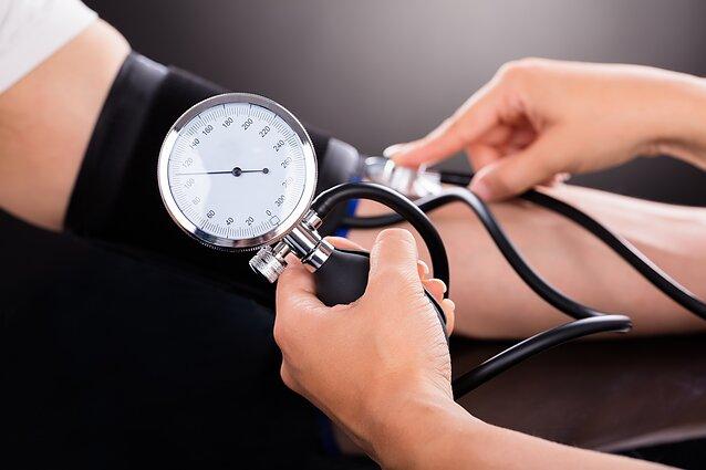 hipertenzija hiperadrenerginė forma