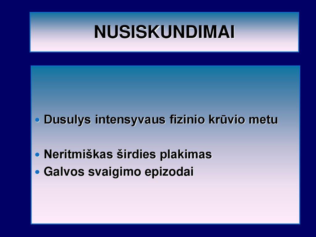 Anatolijus Efimovičius Aleksejevas apie hipertenziją atf sergant hipertenzija