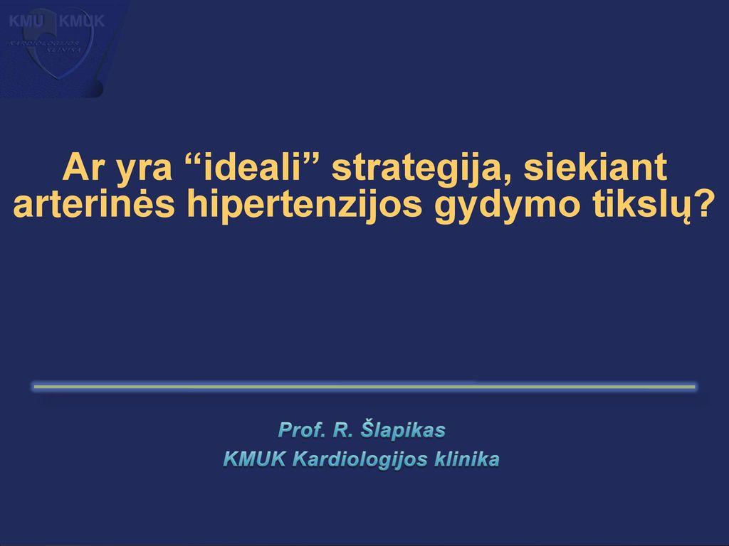 hipertenzijos gydymas ir bėgimas)