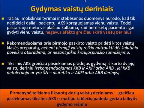 hipertenzijos gydymo paskaita)