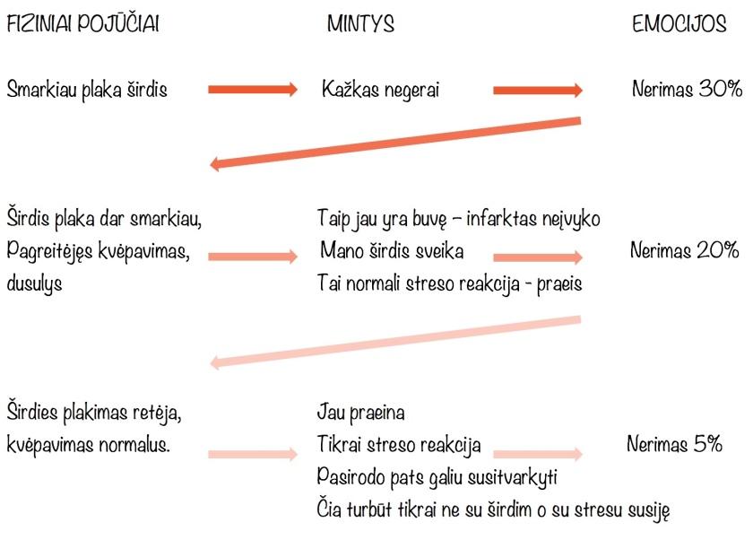kaip atskirti panikos priepuolius nuo hipertenzijos)