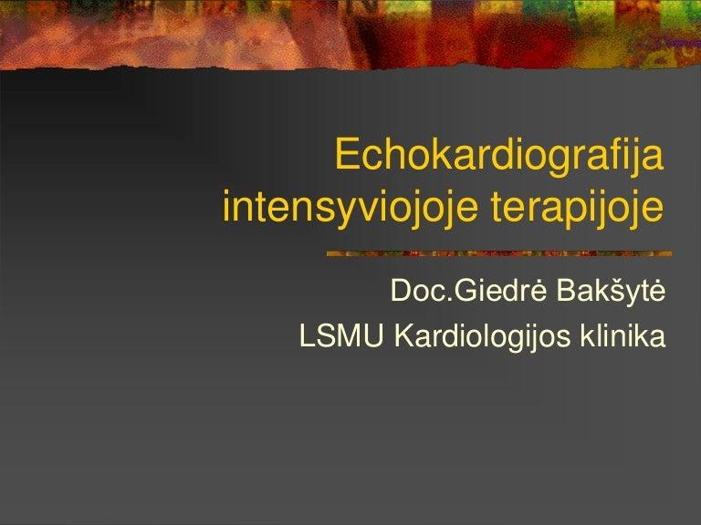 kardiopulmoninė hipertenzija