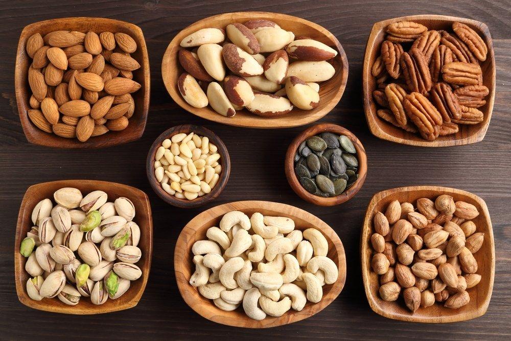 valgyti riešutus širdies sveikatai