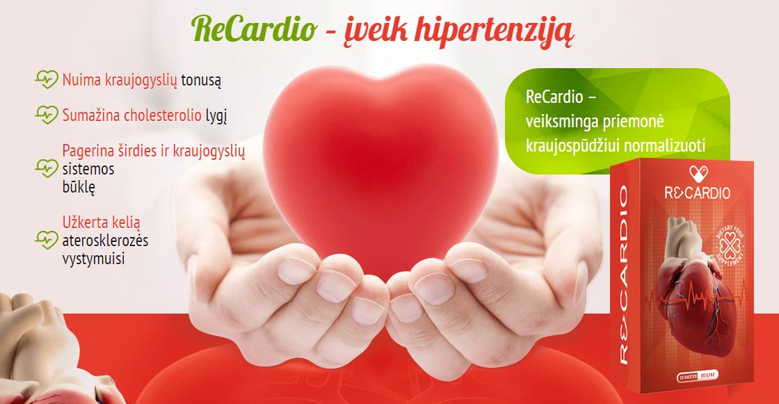 slėgio problemos hipertenzija