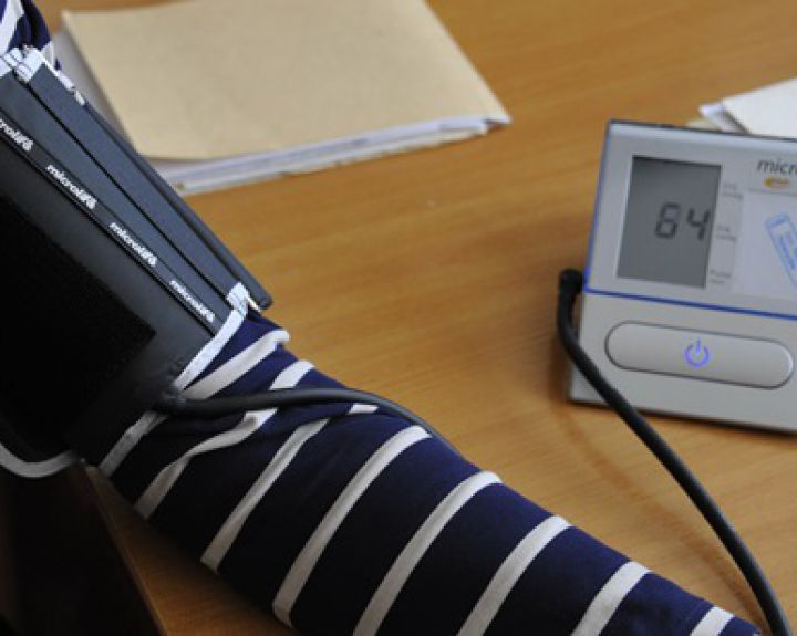 retas pulsas su hipertenzija