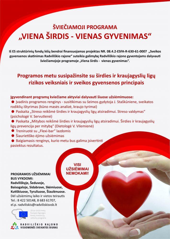 širdies sveikatos gerinimas)