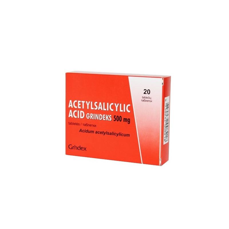 acetilsalicilo rūgštis ir hipertenzija)
