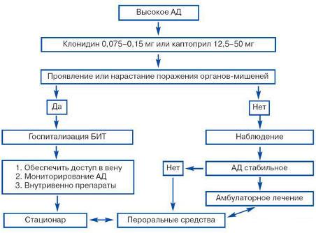 hipertenzijos ir hipertenzinės krizės gydymas