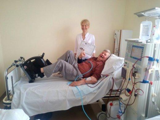 dializės hipertenzija)