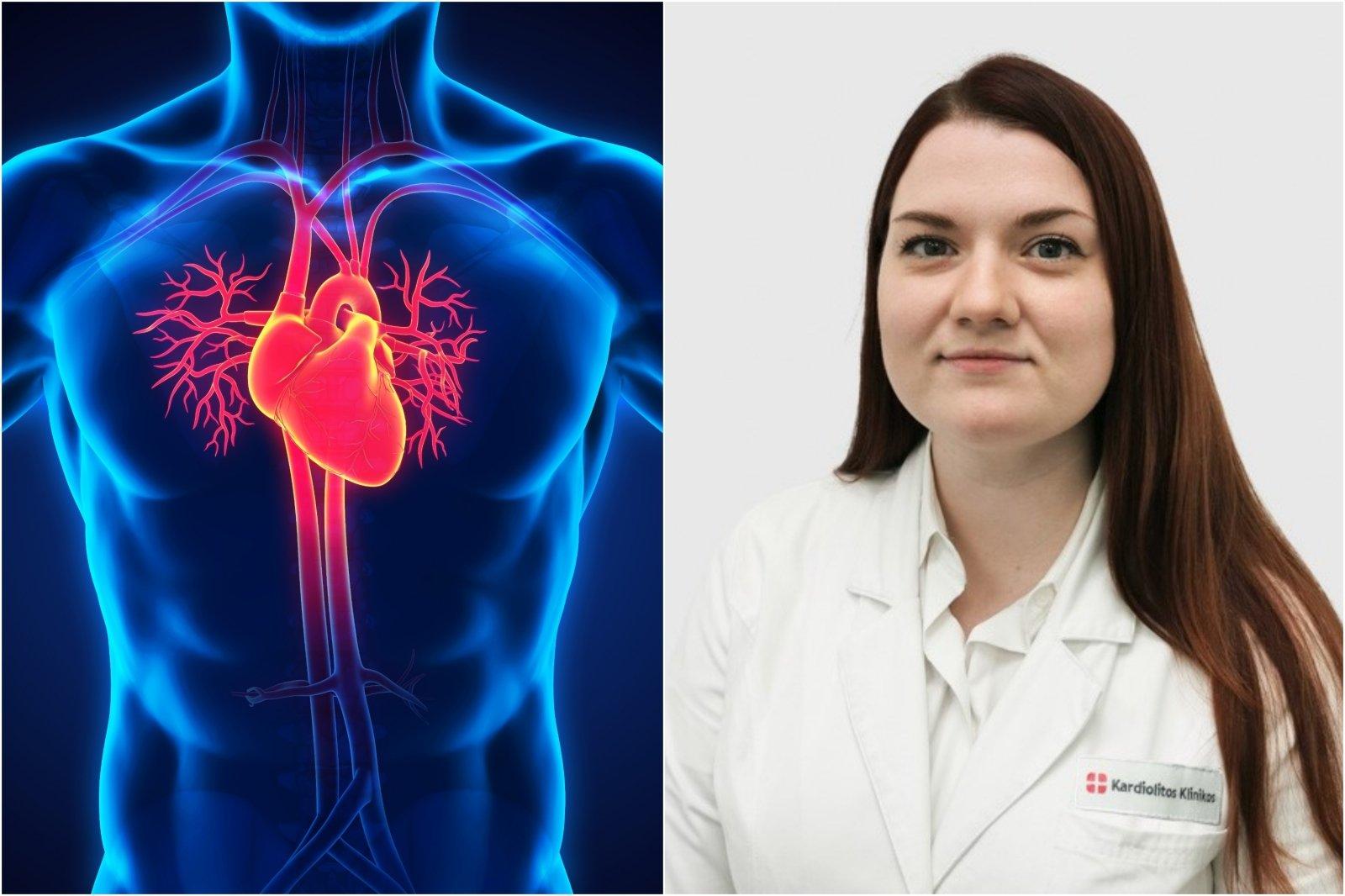 tikrinti savo širdies sveikatą