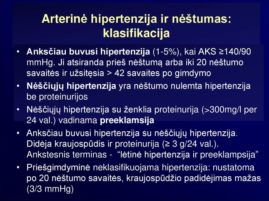 hipertenzija 38 savaitę)