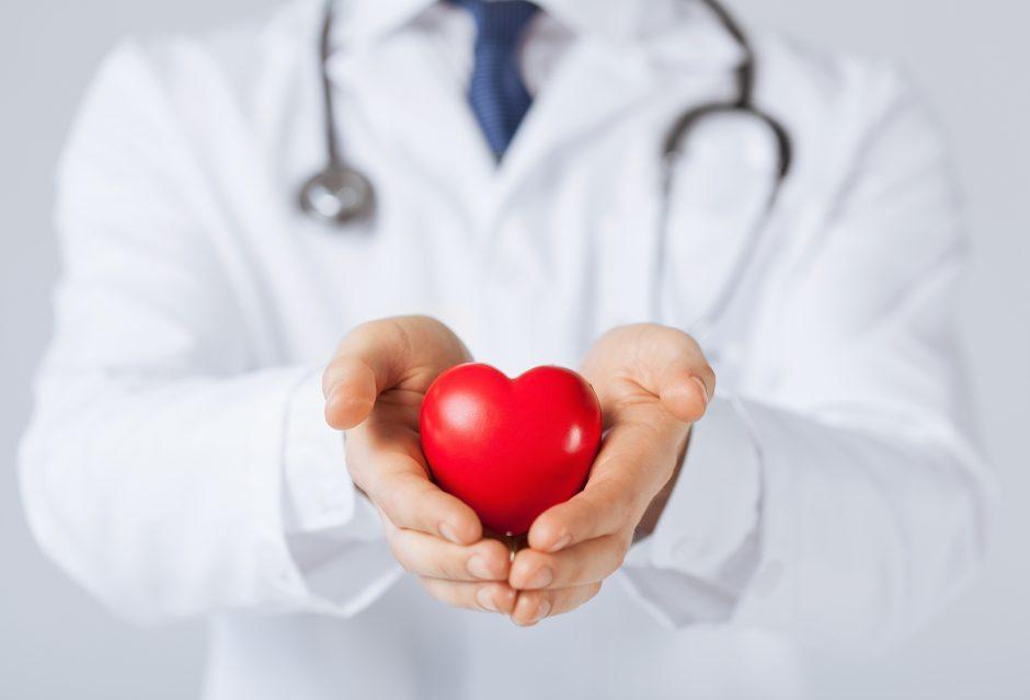 Kardiologinė dieta padeda išvengti širdies ligų