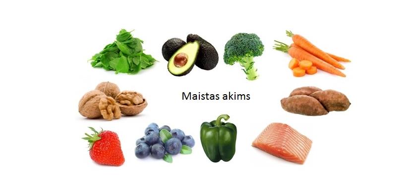 širdies sveikatos maisto produktai ir vitaminai)