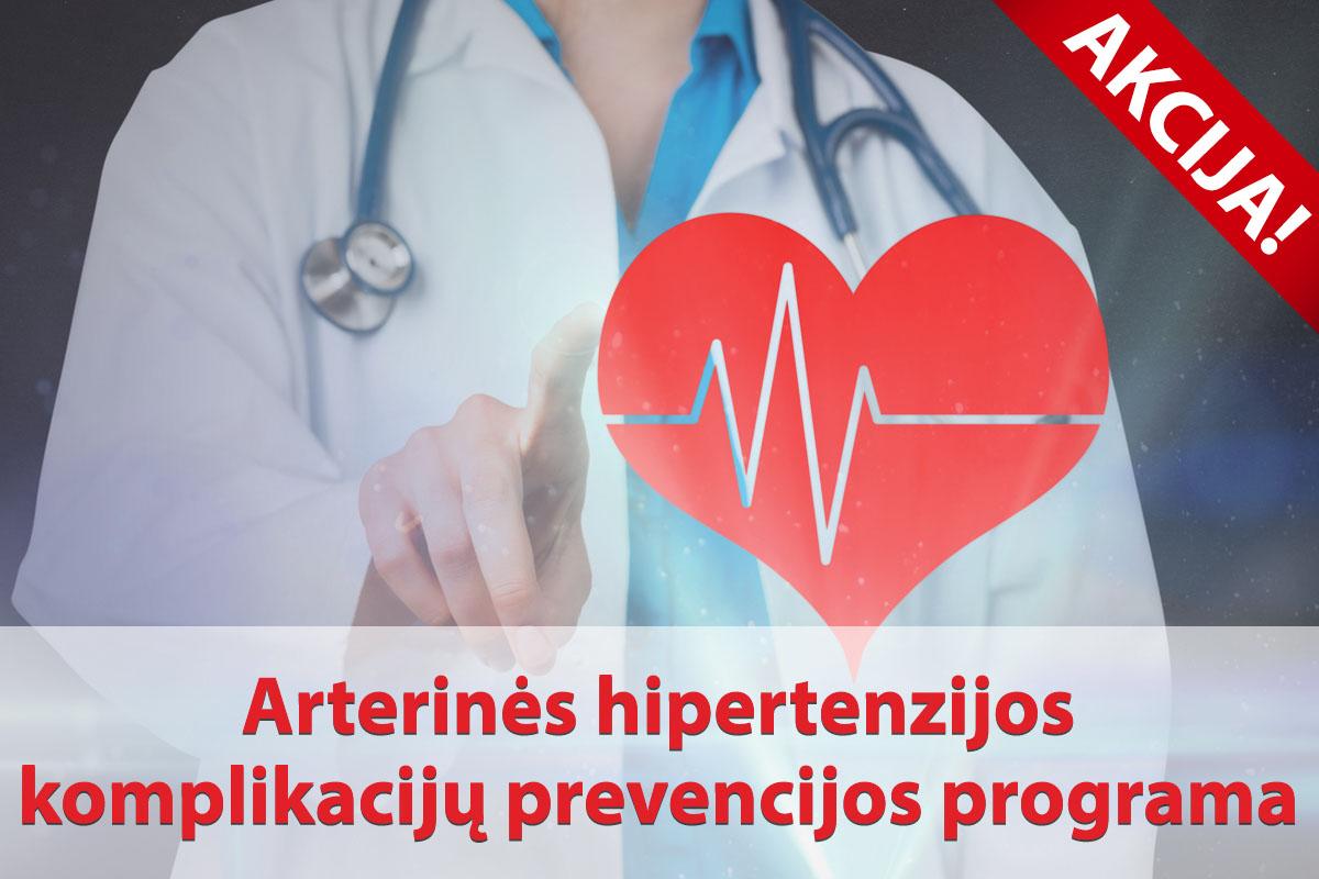 hemoglobino hipertenzija)