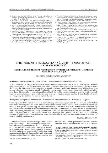 Angioprotektoriai ir mikrocirkuliacijos korekcijos - Aterosklerozė November