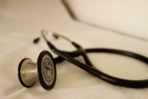 Širdies auskultacija. Širdies klausymo vietos (auscultation point). - Leukemija