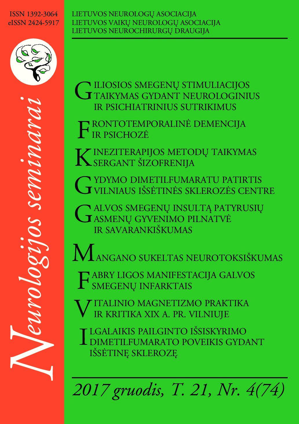 šizofrenija ir hipertenzija)