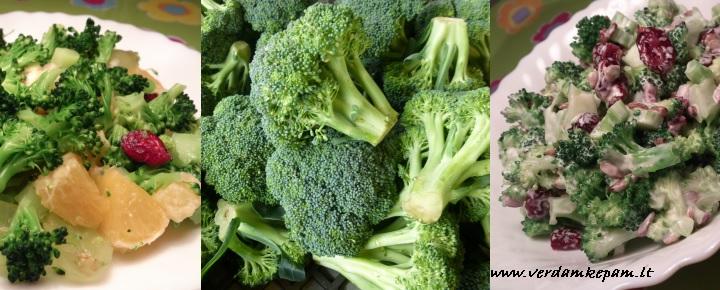 brokolių nauda širdžiai
