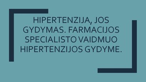 ekologinė hipertenzija