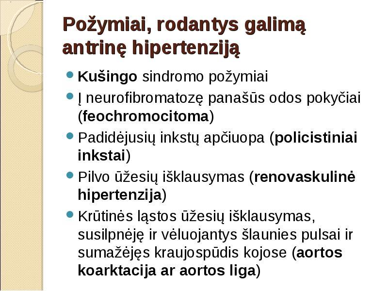 prakaitavimo hipertenzija)