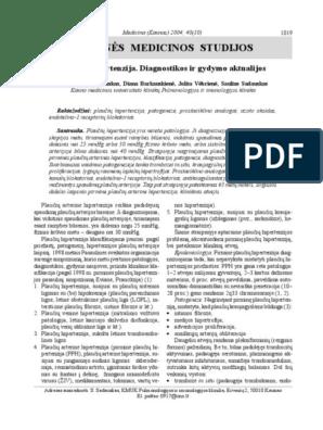 monografija apie hipertenziją naudingas ir nesveikas maistas nuo hipertenzijos