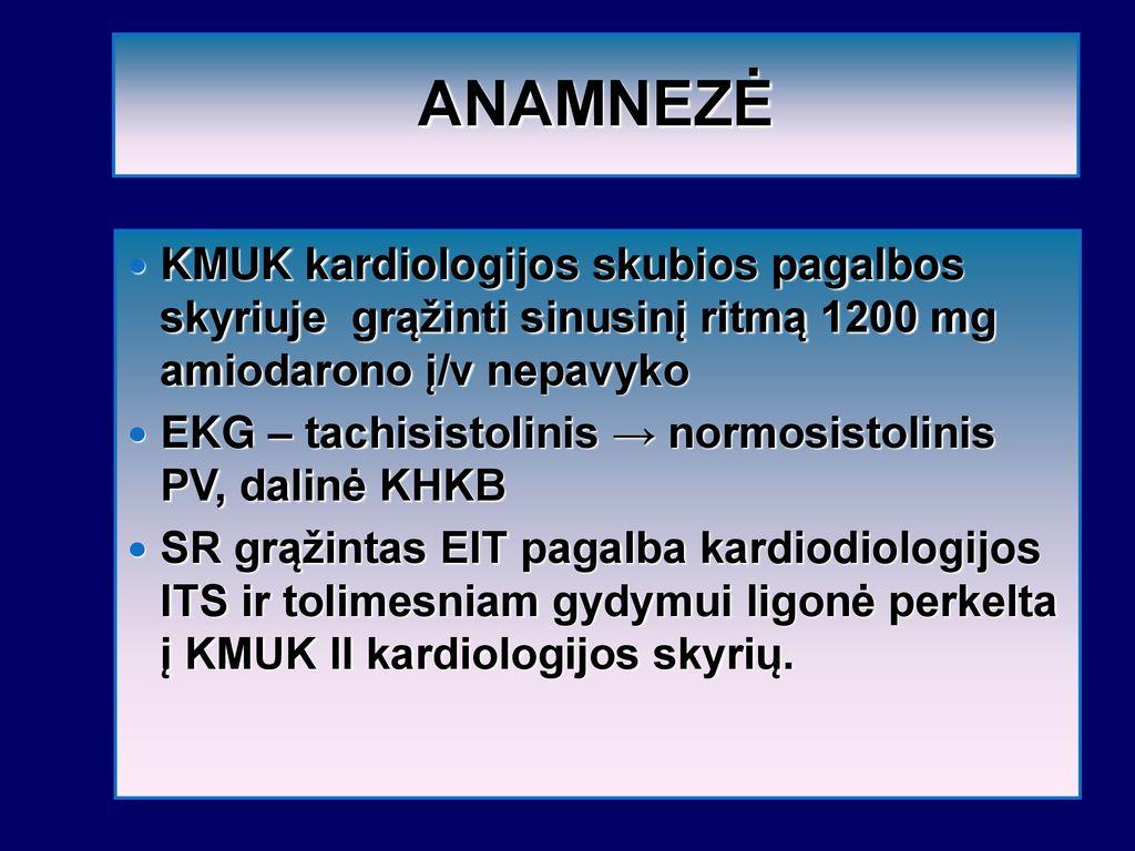 hipertenzija sėkmingas gydymas)