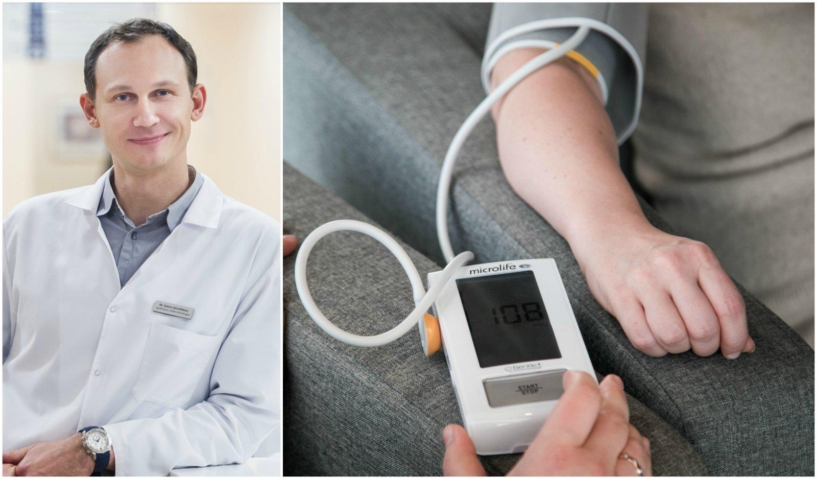 hipertenzijos grėsmė hipertenzija vyresnio amžiaus žmonėms