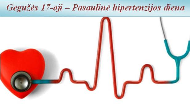 žinomų hipertenzija sergančių žmonių